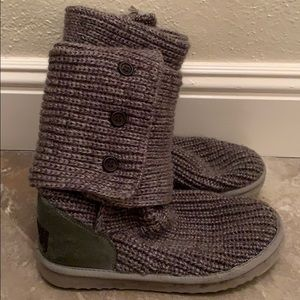UGGS gray sweater boots cute HALF PRICE!!!